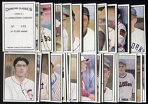 1983 Diamond Classics Complete Series 2 55 Card Set in Original Box w/25 Autographed